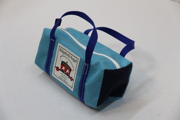 Kulturtasche mit Henkeln hellblau marineblau königsblau 30-12-12