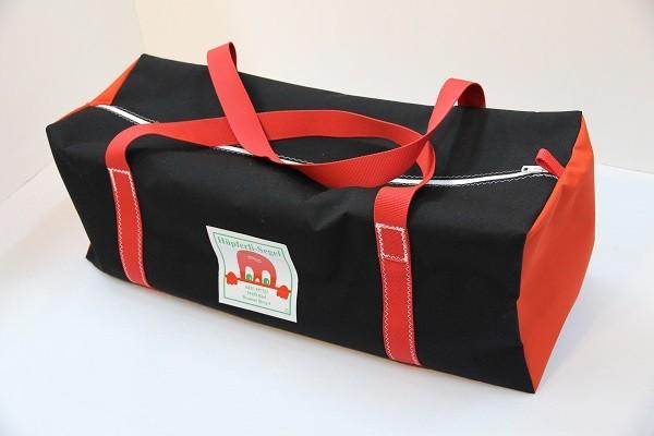 Reisetasche schwarz rot 75-27-27