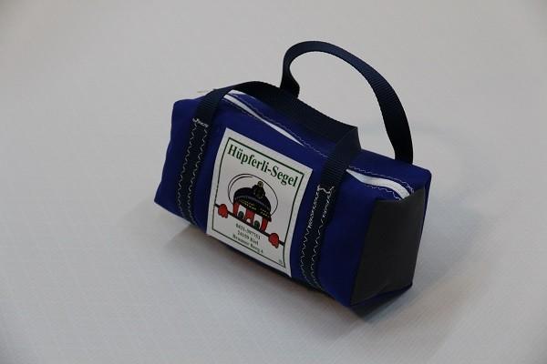 kleine Kulturtasche königsblau anthrazit marineblau 25-10-10