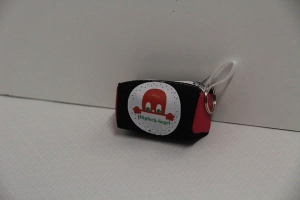 Schlüsselanhänger schwarz-pink