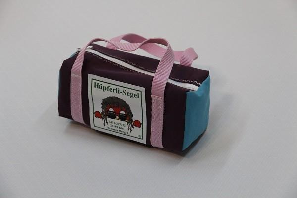 kleine Kulturtasche flieder hellblau rosa 25-10-10