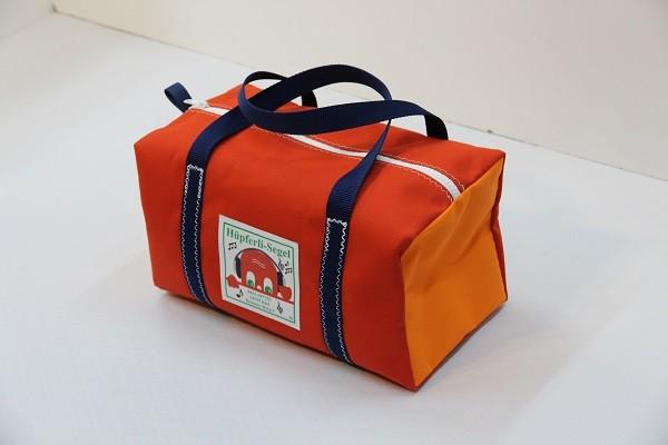 Kindersporttasche rot orange marineblau 35-20-20