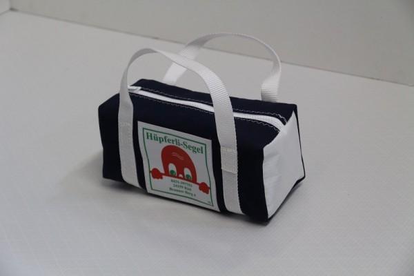 kleine Kulturtasche marineblau weiß 25-10-10
